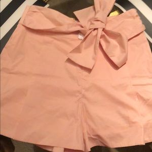 JCrew shorts with bow
